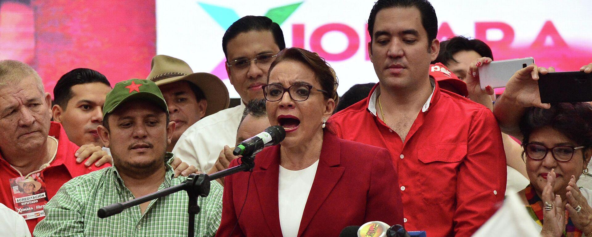 Xiomara Castro, candidata presidenncial hondureña - Sputnik Mundo, 1920, 26.04.2021
