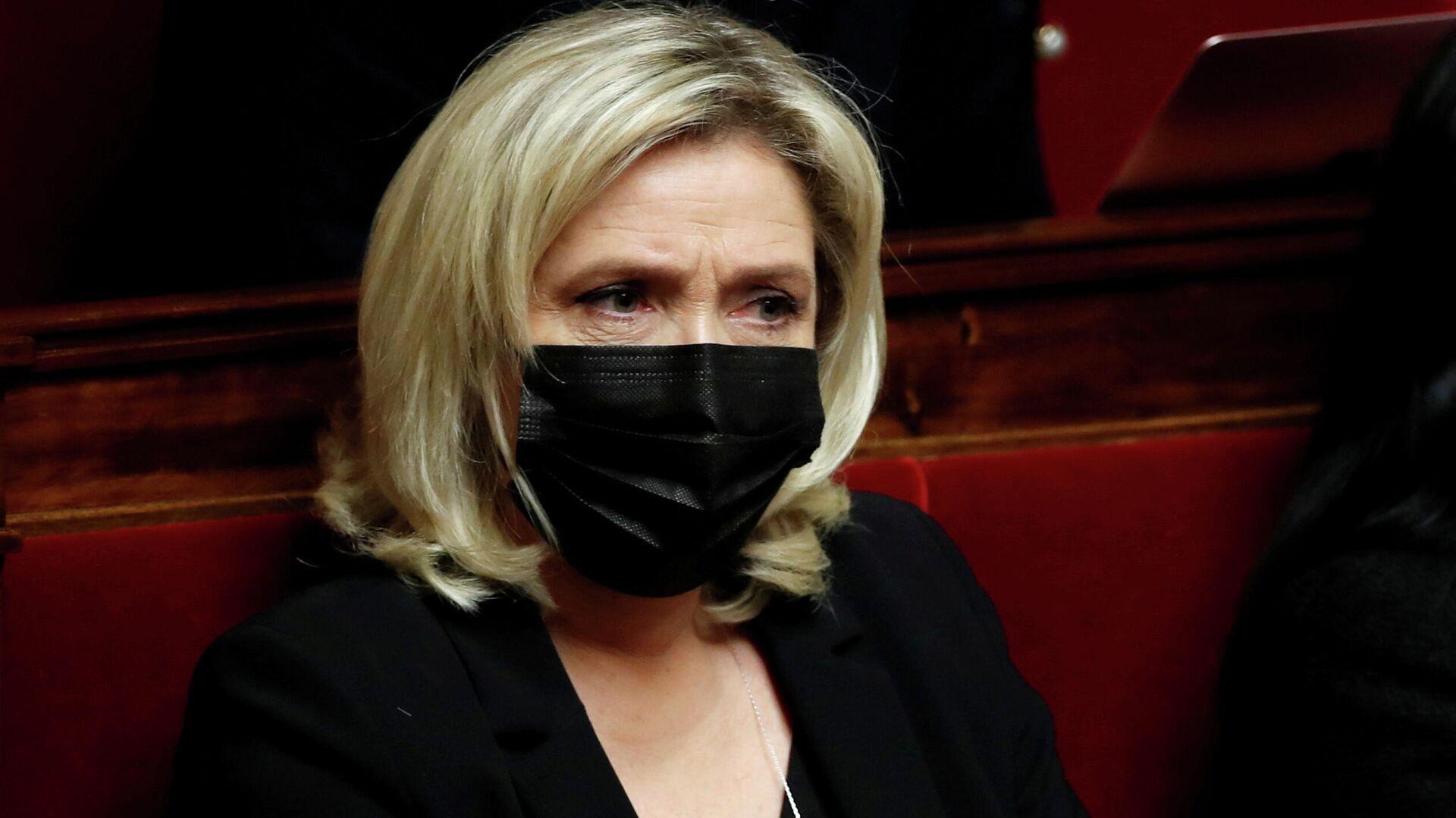 Marine Le Pen, líder del partido francés de derecha Agrupación Nacional - Sputnik Mundo, 1920, 22.03.2021