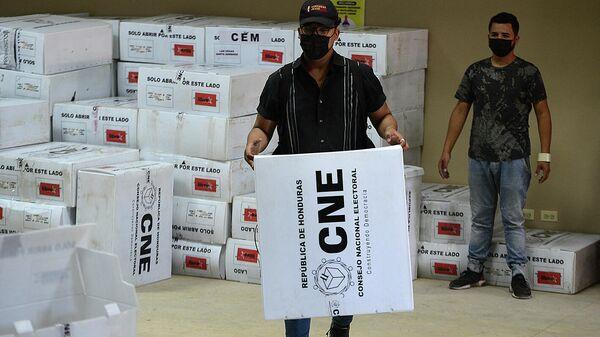 Escrutinio de los votos en las elecciones primarias de Honduras - Sputnik Mundo