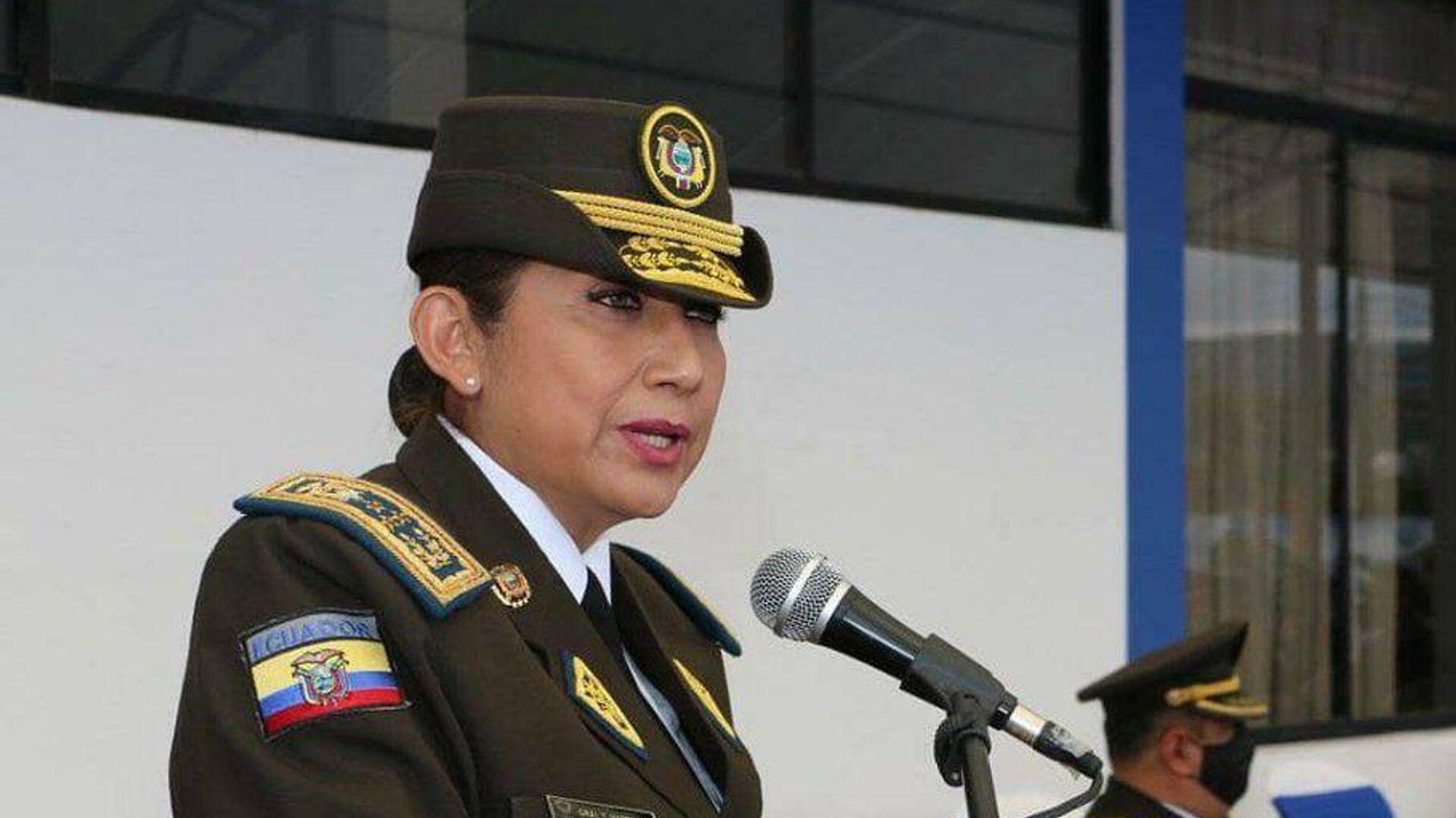 Tannya Varela, comandante general de la Policía Nacional de Ecuador - Sputnik Mundo, 1920, 18.06.2021