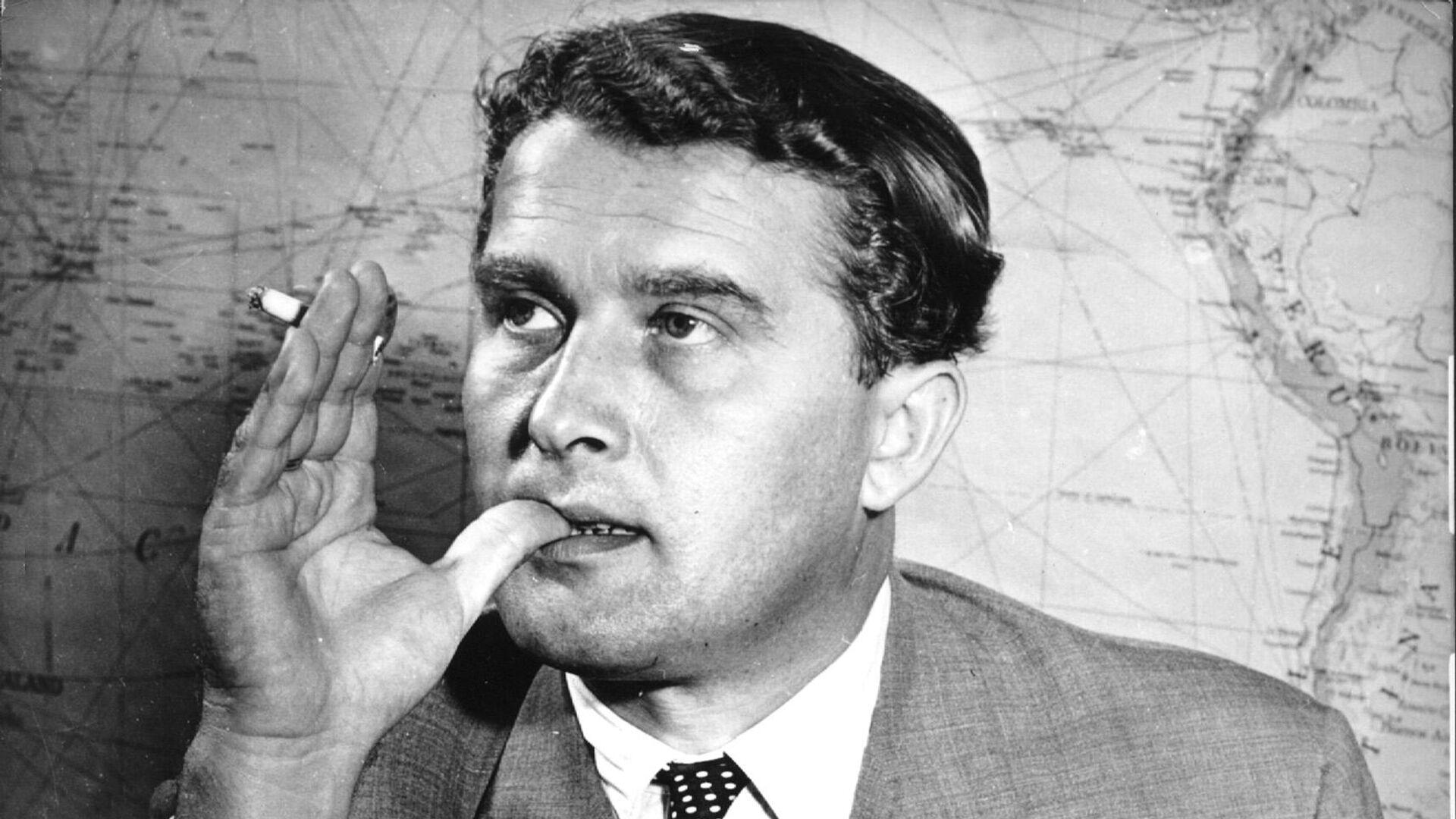 Wernher von Braun, ingeniero estadounidense de origen alemán - Sputnik Mundo, 1920, 23.03.2021