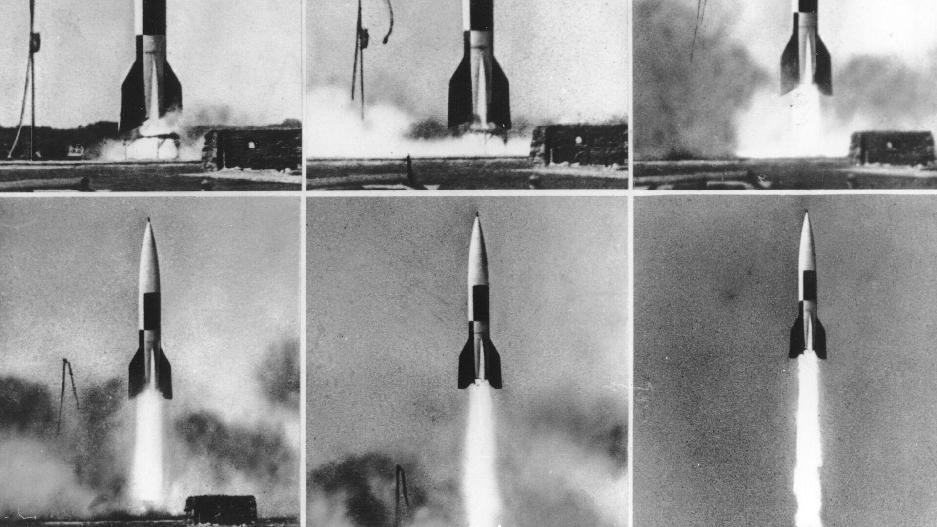 Misil V-2 producido por la Alemania nazi - Sputnik Mundo, 1920, 23.03.2021
