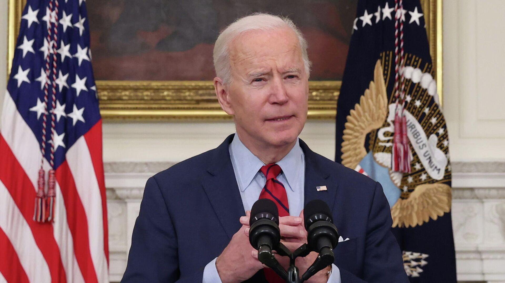 Joe Biden, presidente de EEUU - Sputnik Mundo, 1920, 23.03.2021