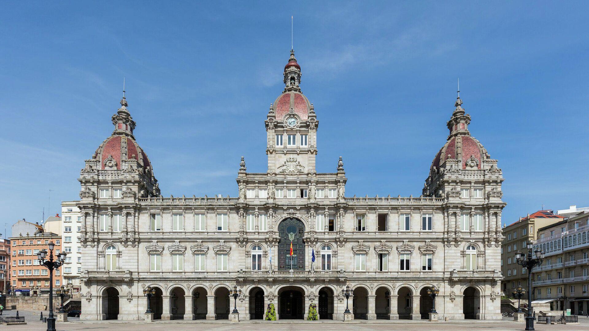 Palacio Municipal de La Coruña - Sputnik Mundo, 1920, 24.03.2021