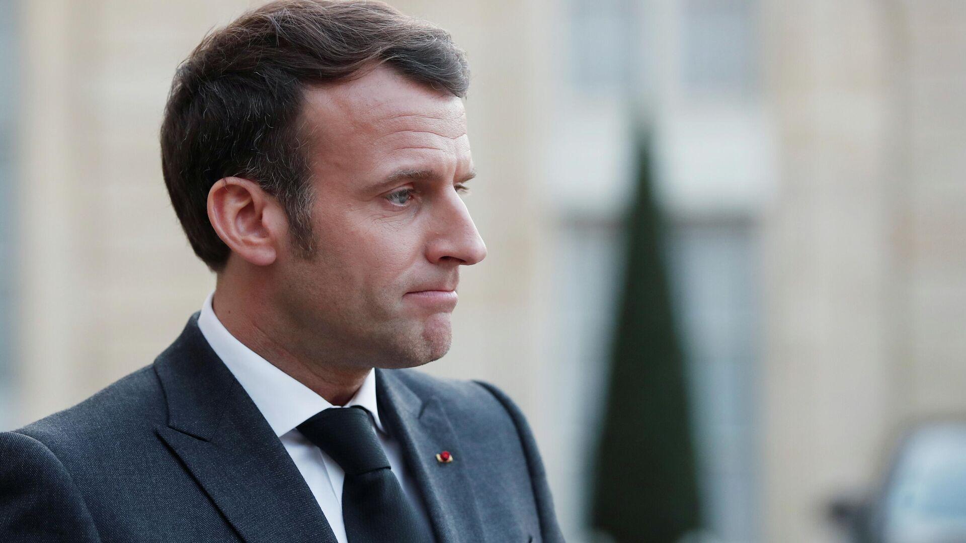 Emmanuel Macron, presidente de Francia - Sputnik Mundo, 1920, 24.03.2021