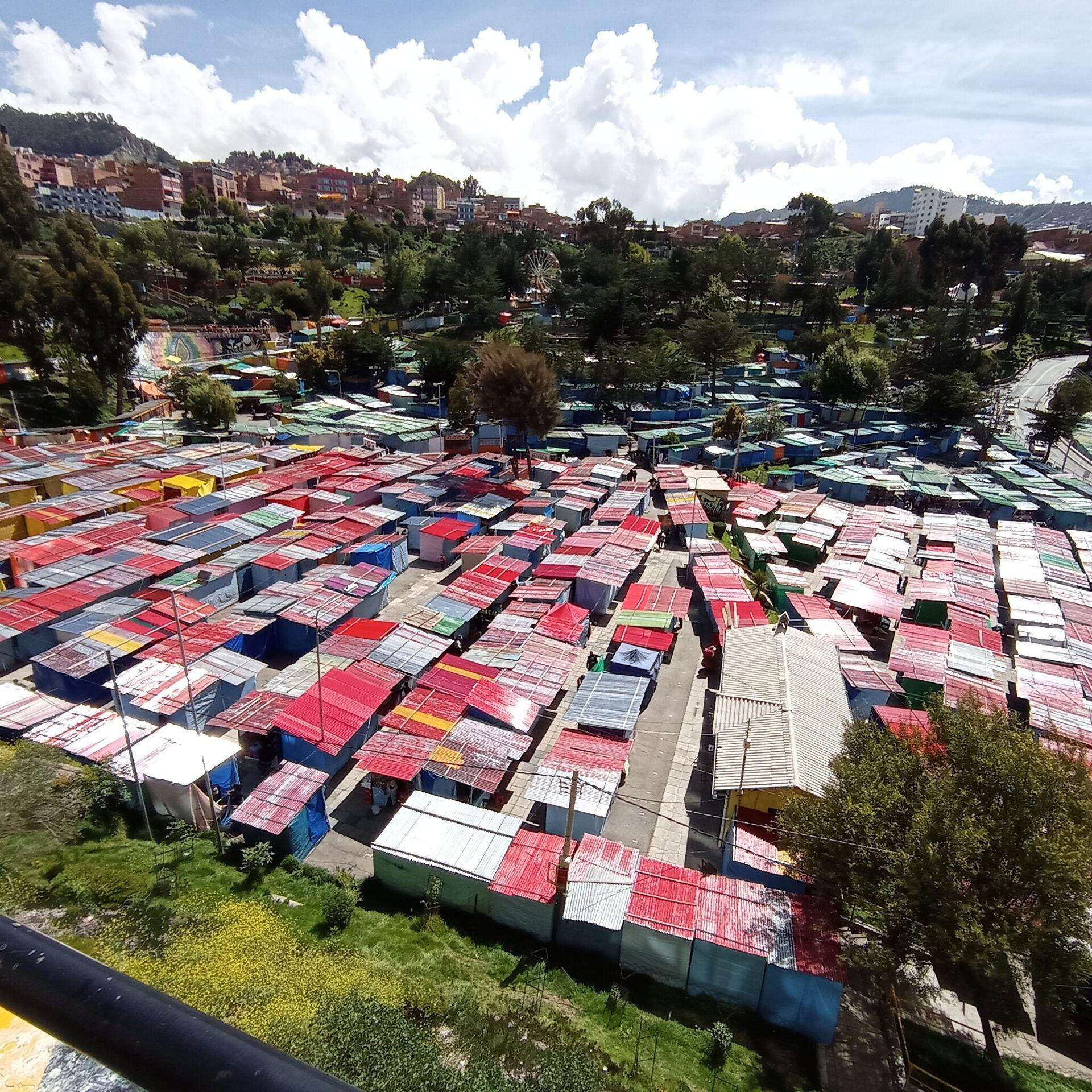 La Feria de Alasitas se desarrolla en el Parque Urbano Central de La Paz - Sputnik Mundo, 1920, 25.03.2021