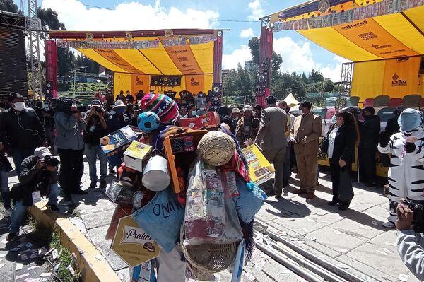 Inauguración de la Feria de la Feria de Alasitas, en La Paz - Sputnik Mundo