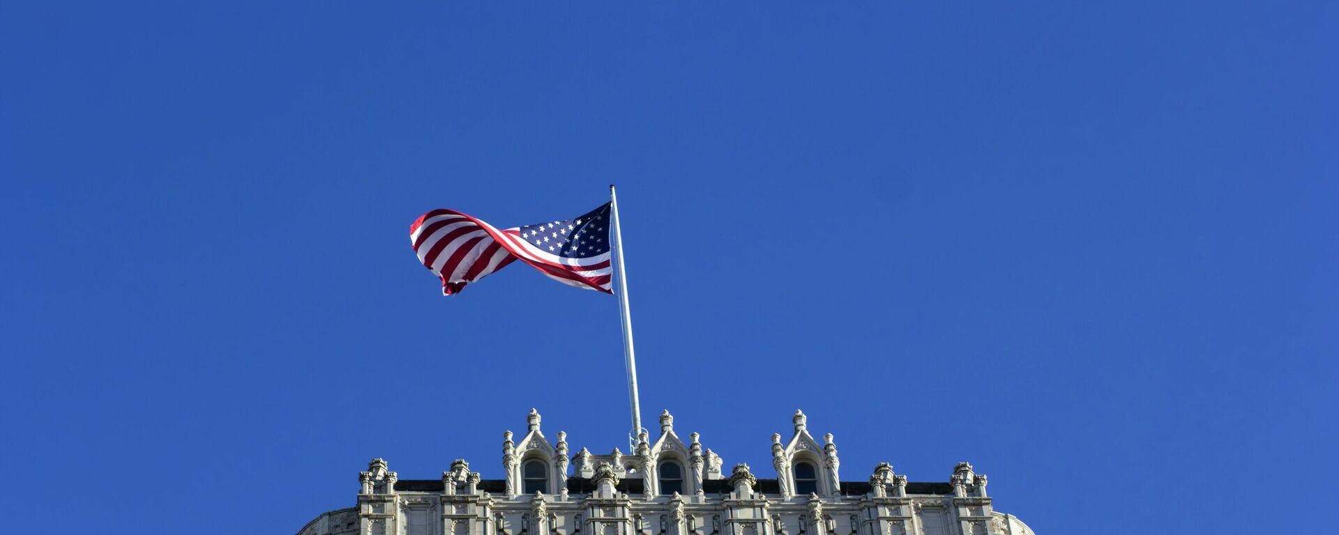 La bandera de EEUU (imagen referencial) - Sputnik Mundo, 1920, 01.07.2021