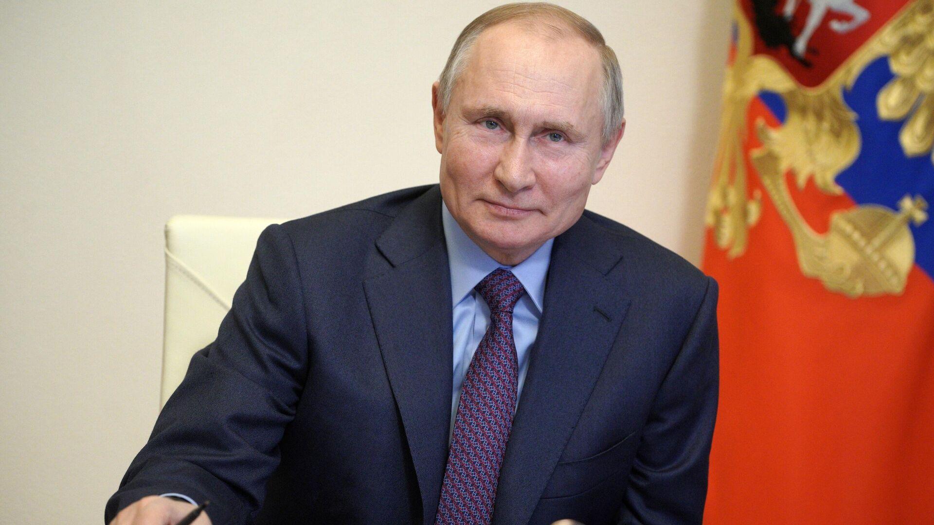 Vladímir Putin, presidente de Rusia - Sputnik Mundo, 1920, 05.04.2021