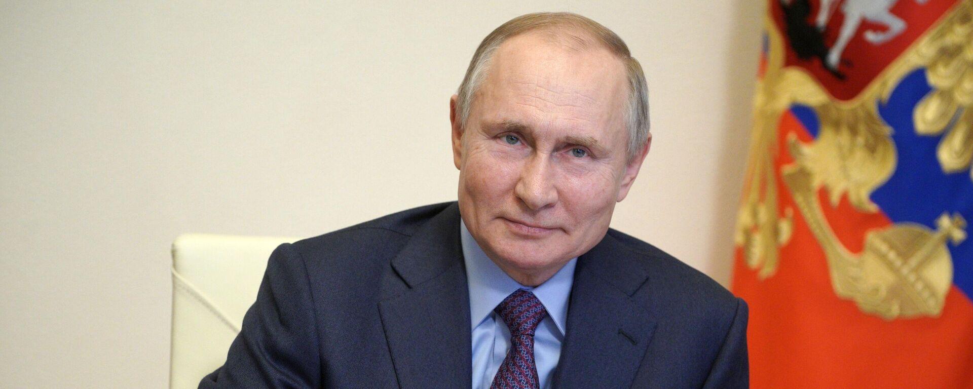 Vladímir Putin, presidente de Rusia - Sputnik Mundo, 1920, 10.05.2021