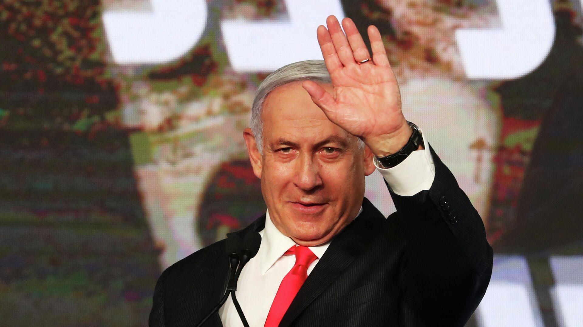 Benjamín Netanyahu, primer ministro israelí - Sputnik Mundo, 1920, 18.04.2021
