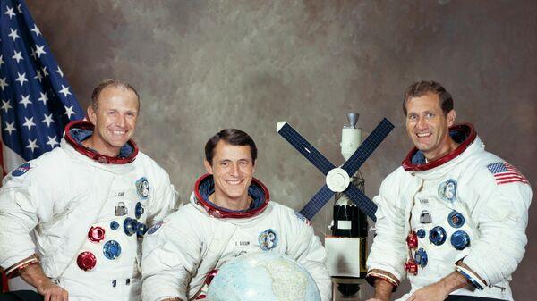 Los astronautas que participaron en la misión Skylab 4 - Sputnik Mundo