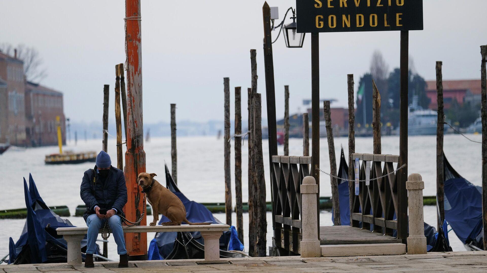 Venecia durante el brote de coronavirus en Italia - Sputnik Mundo, 1920, 25.03.2021