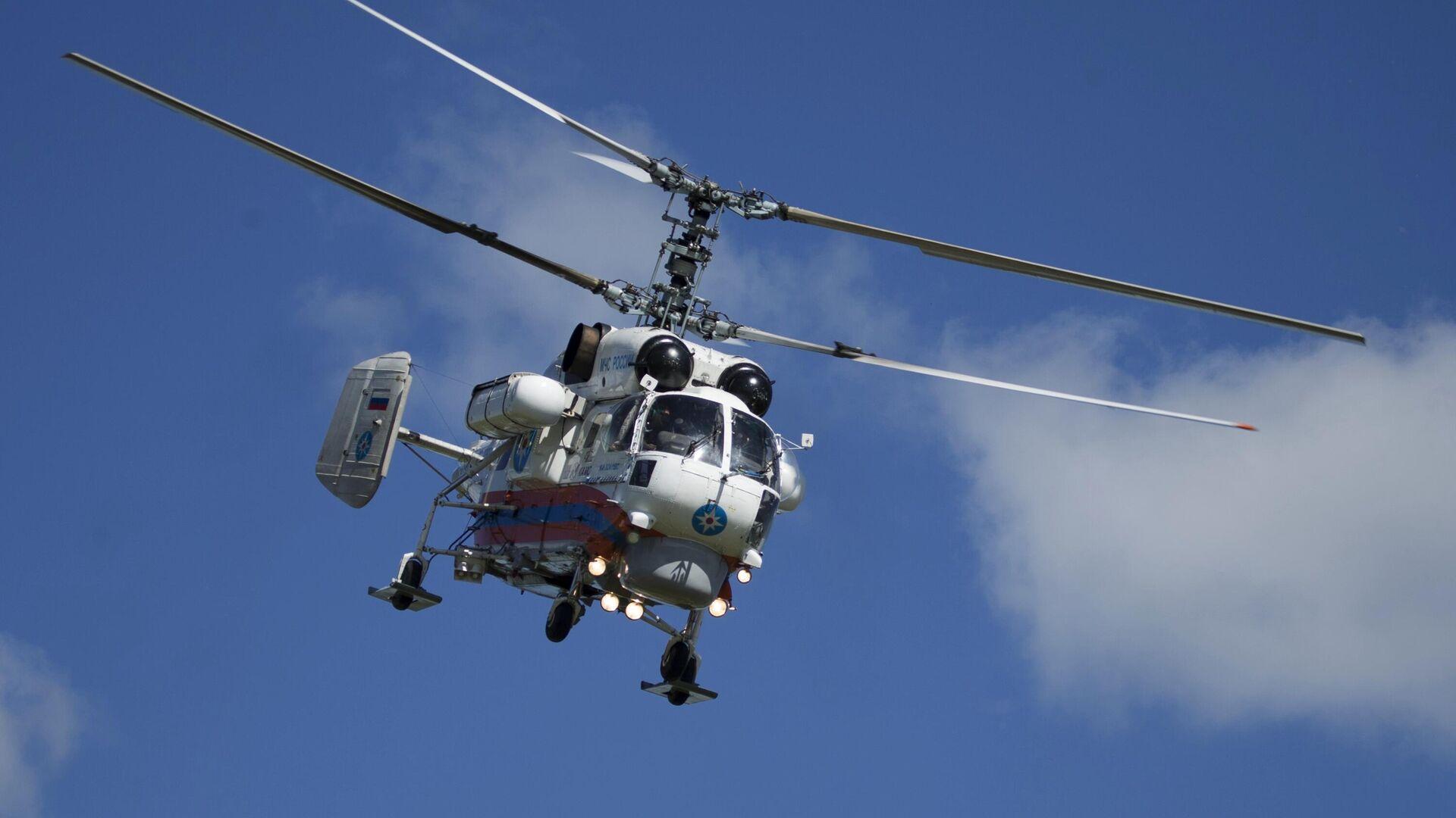 Un helicóptero Ka-32 del Ministerio de Emergencias de Rusia (Archivo) - Sputnik Mundo, 1920, 25.03.2021