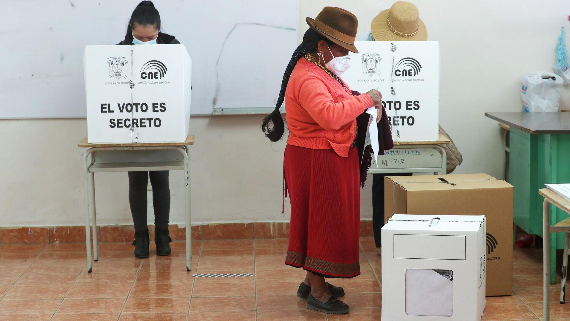 Elecciones en Ecuador - Sputnik Mundo, 1920, 26.03.2021