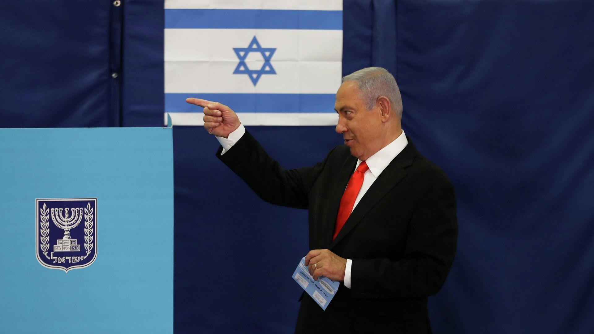 Benjamín Netanyahu, primer ministro israelí - Sputnik Mundo, 1920, 26.03.2021