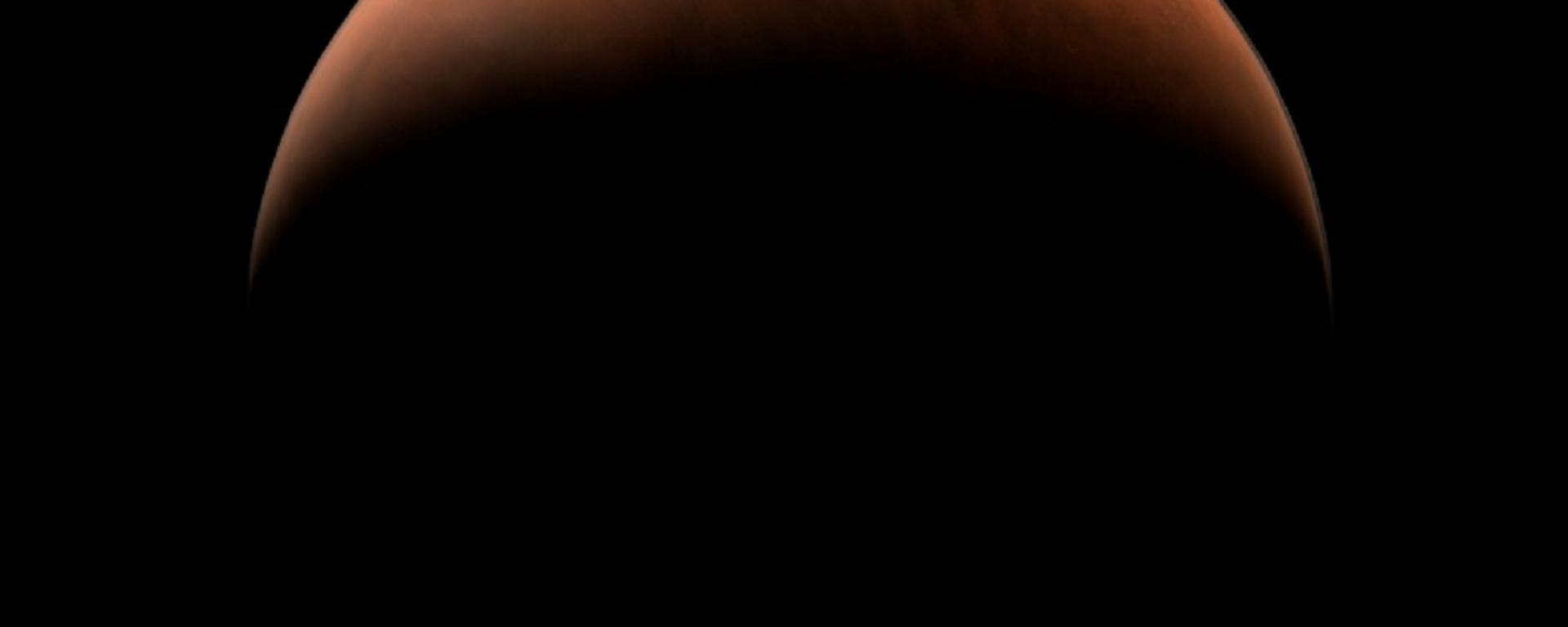 Imagen de Marte tomada por la sonda china Tianwen-1  - Sputnik Mundo, 1920, 26.03.2021