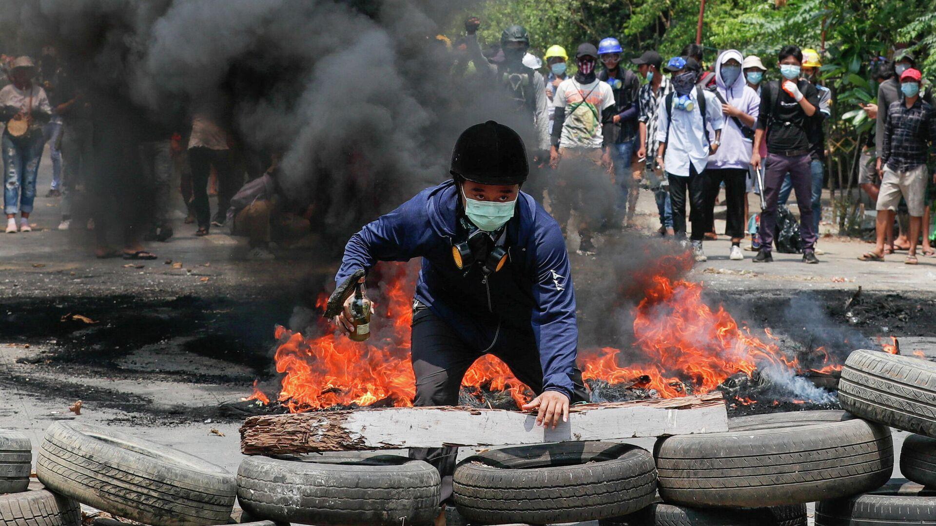 Protestas en Birmania, el 27 de marzo de 2021 - Sputnik Mundo, 1920, 27.03.2021