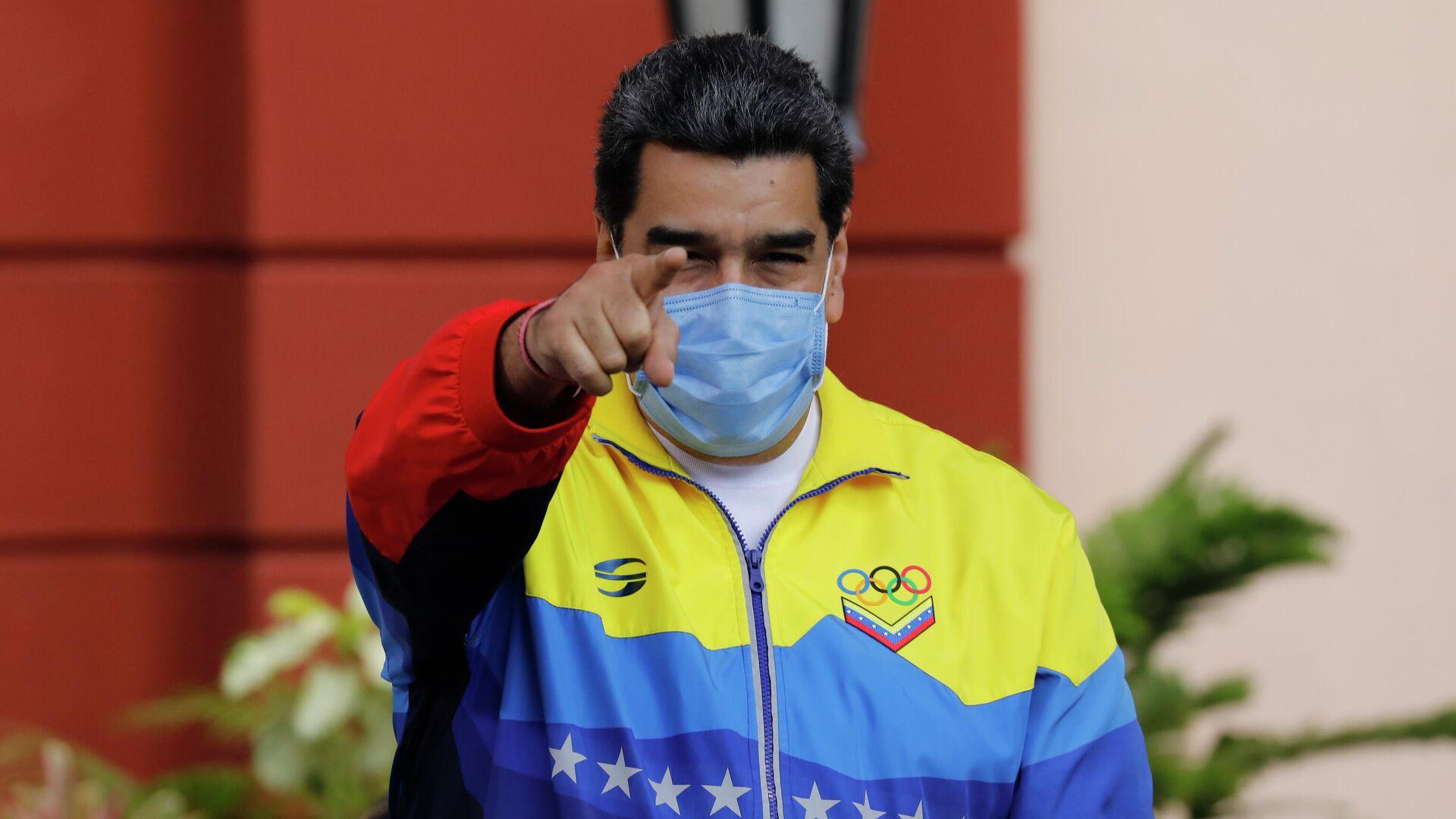 Nicolás Maduro, presidente de Venezuela - Sputnik Mundo, 1920, 27.03.2021