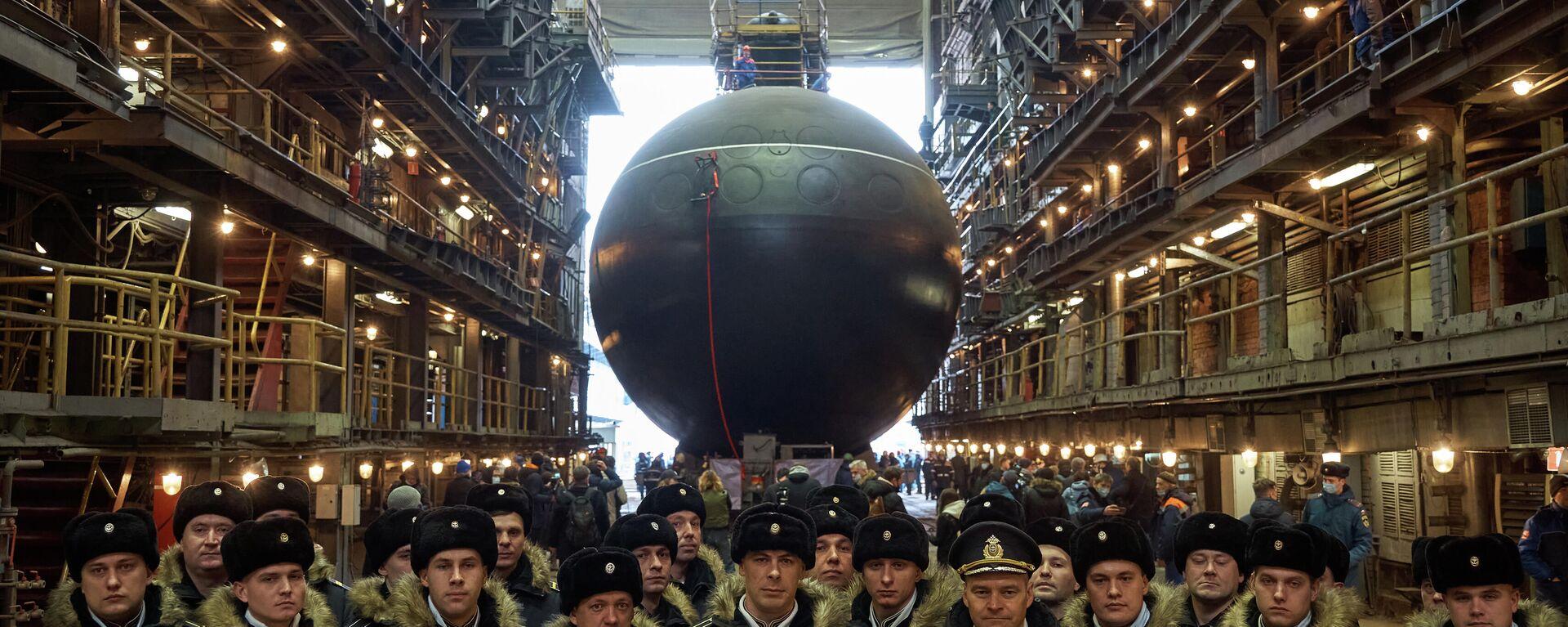 Botadura del submarino ruso Magadan - Sputnik Mundo, 1920, 28.03.2021