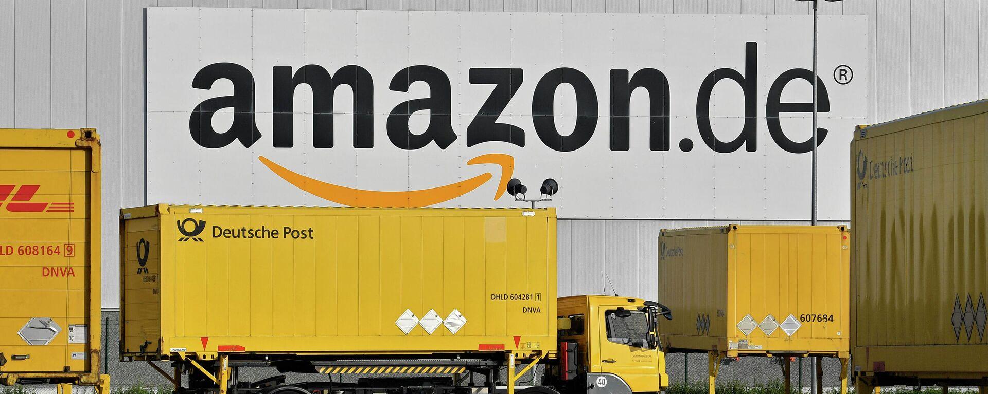 Centro logístico de Amazon en Rheinberg, Alemania - Sputnik Mundo, 1920, 29.03.2021