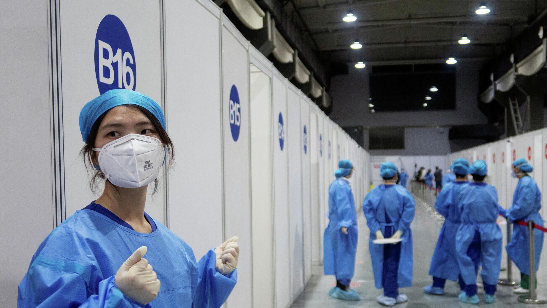 Vacunación contra el coronavirus en China  - Sputnik Mundo, 1920, 29.03.2021