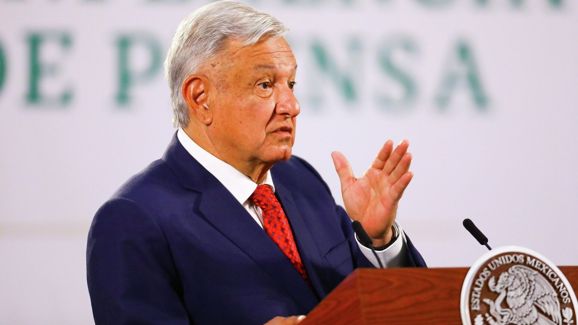 Andrés Manuel López Obrador, presidente de México - Sputnik Mundo, 1920, 29.03.2021