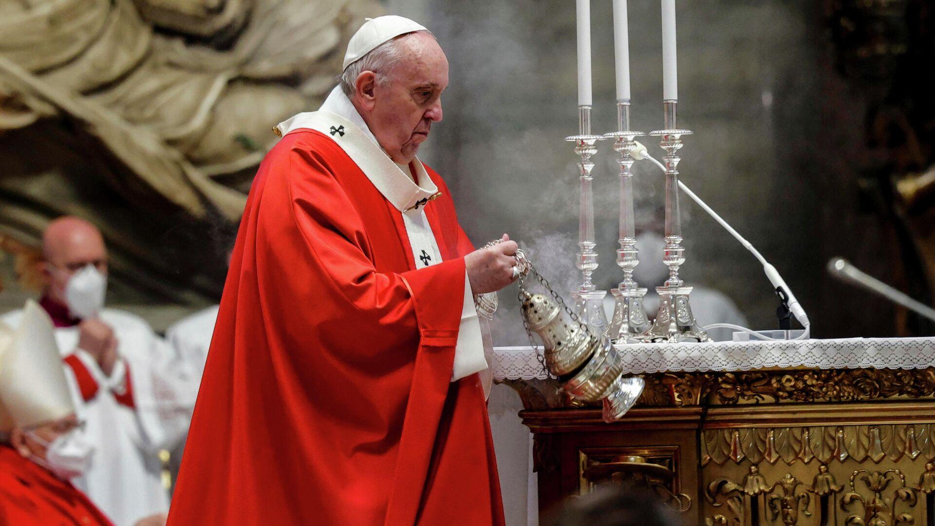 El papa Francisco - Sputnik Mundo, 1920, 29.03.2021