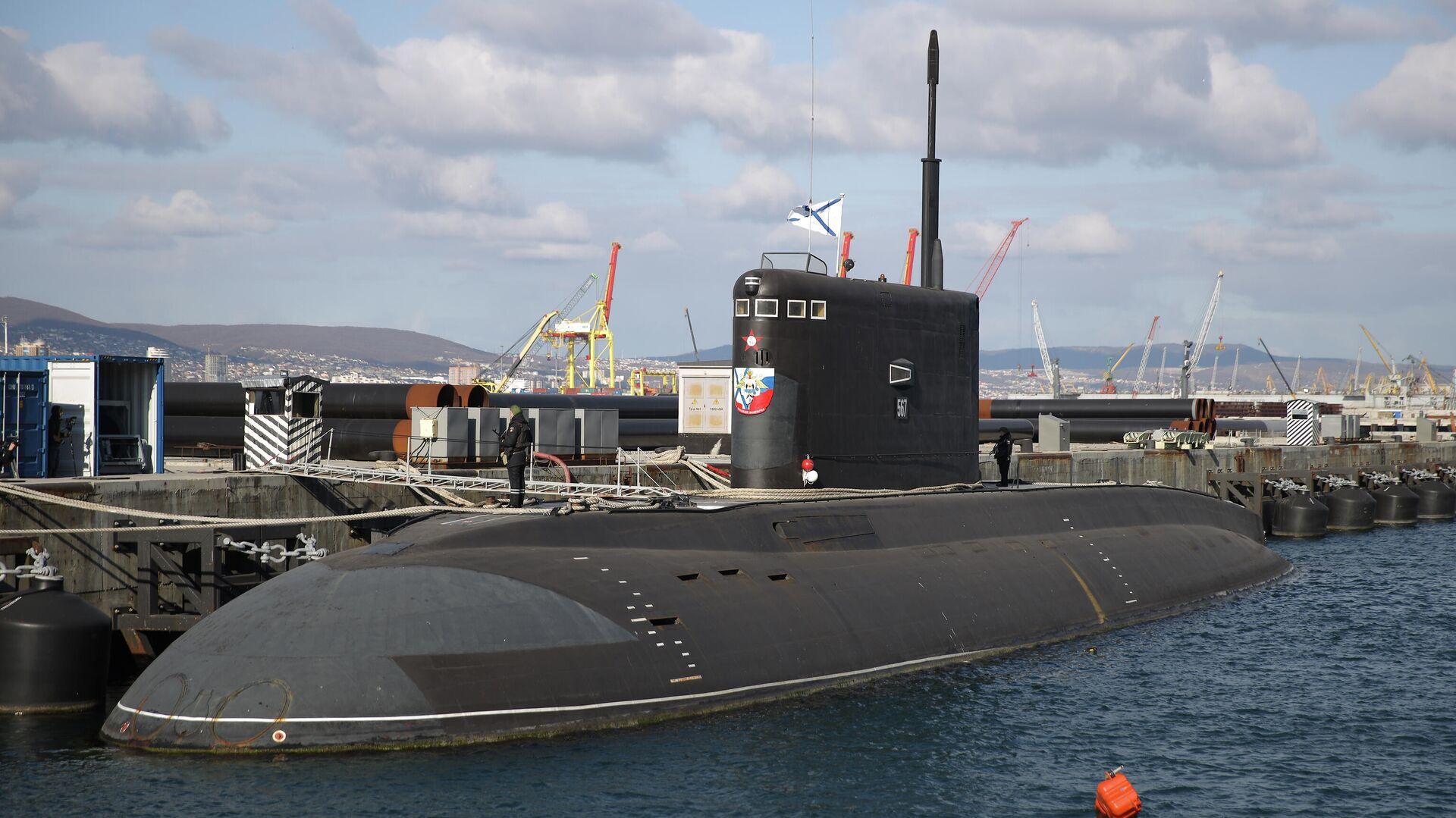 El submarino Veliki Novgorod de la Armada de Rusia - Sputnik Mundo, 1920, 29.03.2021
