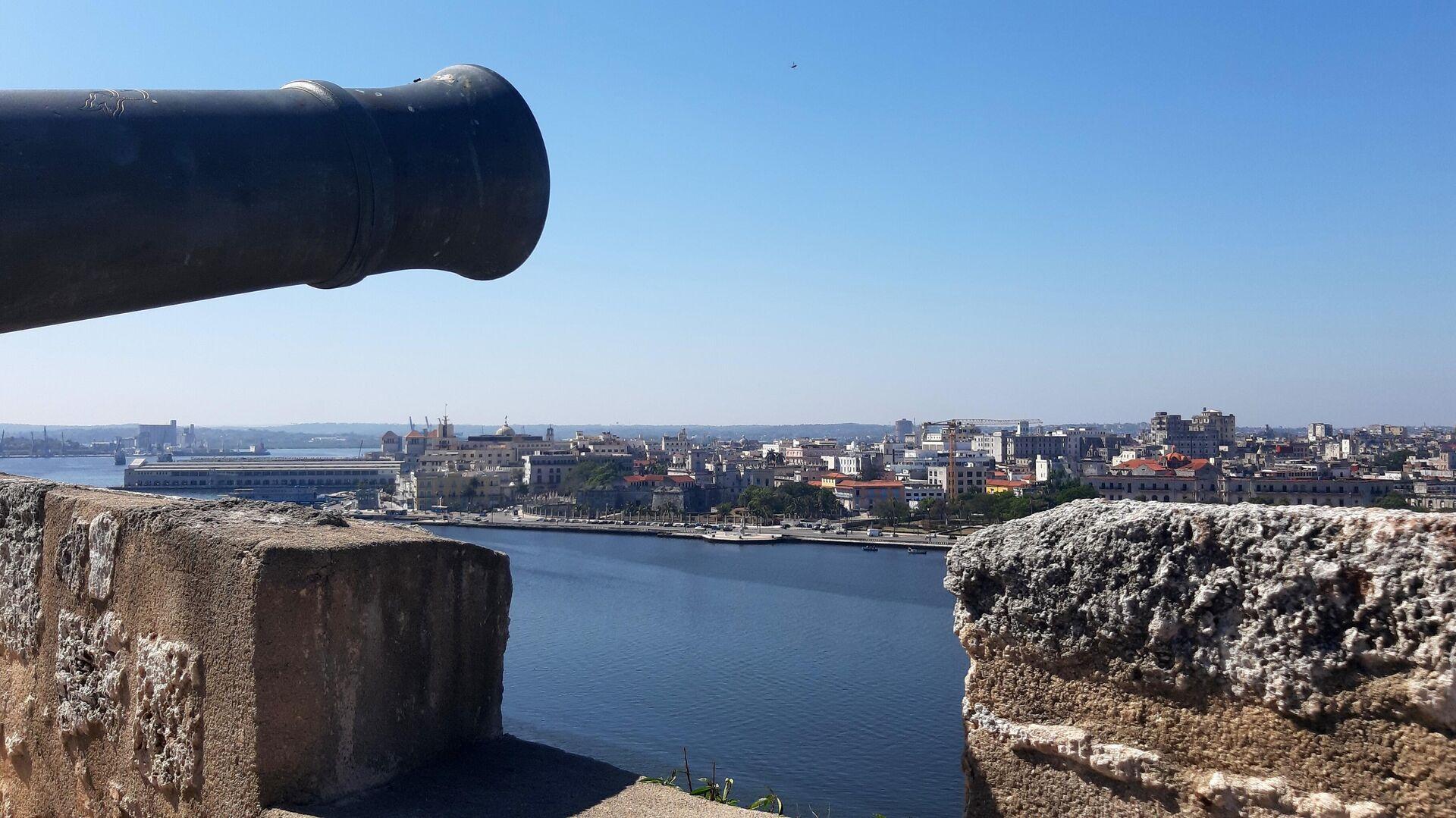 Los cañones protegían la ciudad de los ataques de corsarios y piratas - Sputnik Mundo, 1920, 29.03.2021