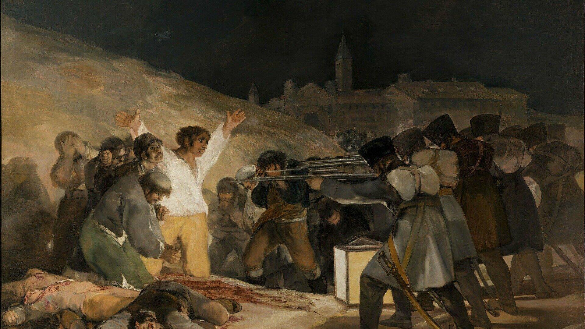 Los fusilamientos del tres de mayo (Francisco de Goya, 1808) - Sputnik Mundo, 1920, 30.03.2021