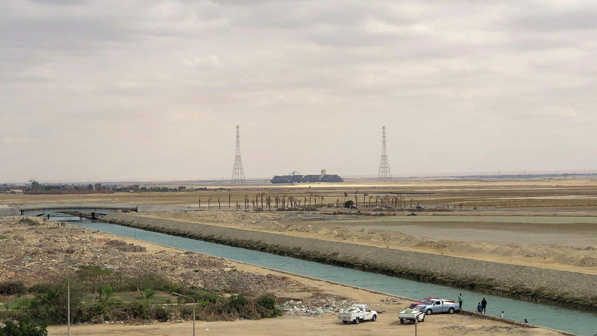 El canal de Suez - Sputnik Mundo, 1920, 30.03.2021