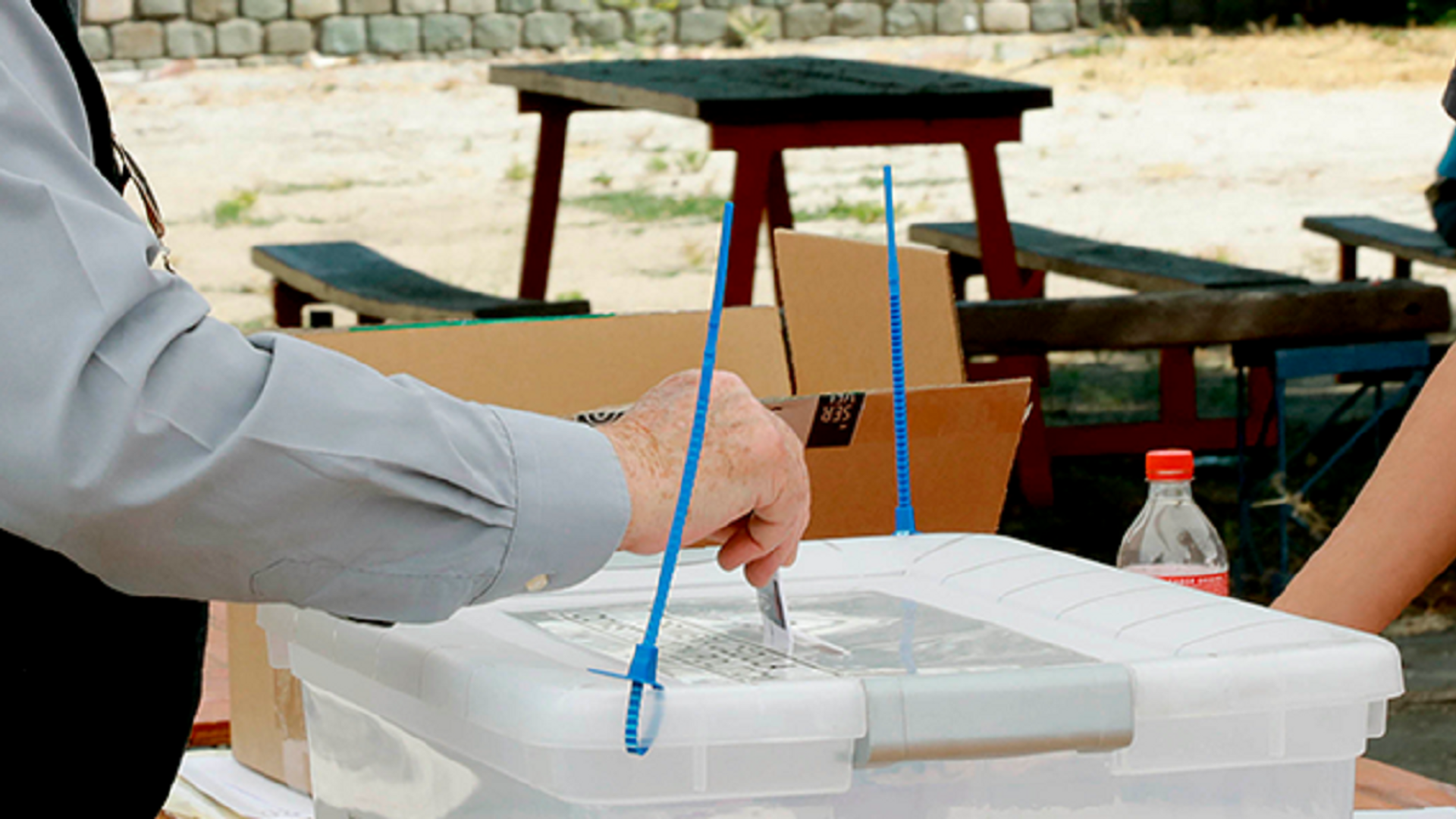 Un votante chileno sufragando - Sputnik Mundo, 1920, 30.03.2021