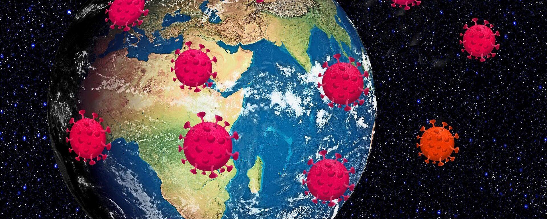 Propagación del coronavirus en el mundo (imagen referencial) - Sputnik Mundo, 1920, 18.04.2021