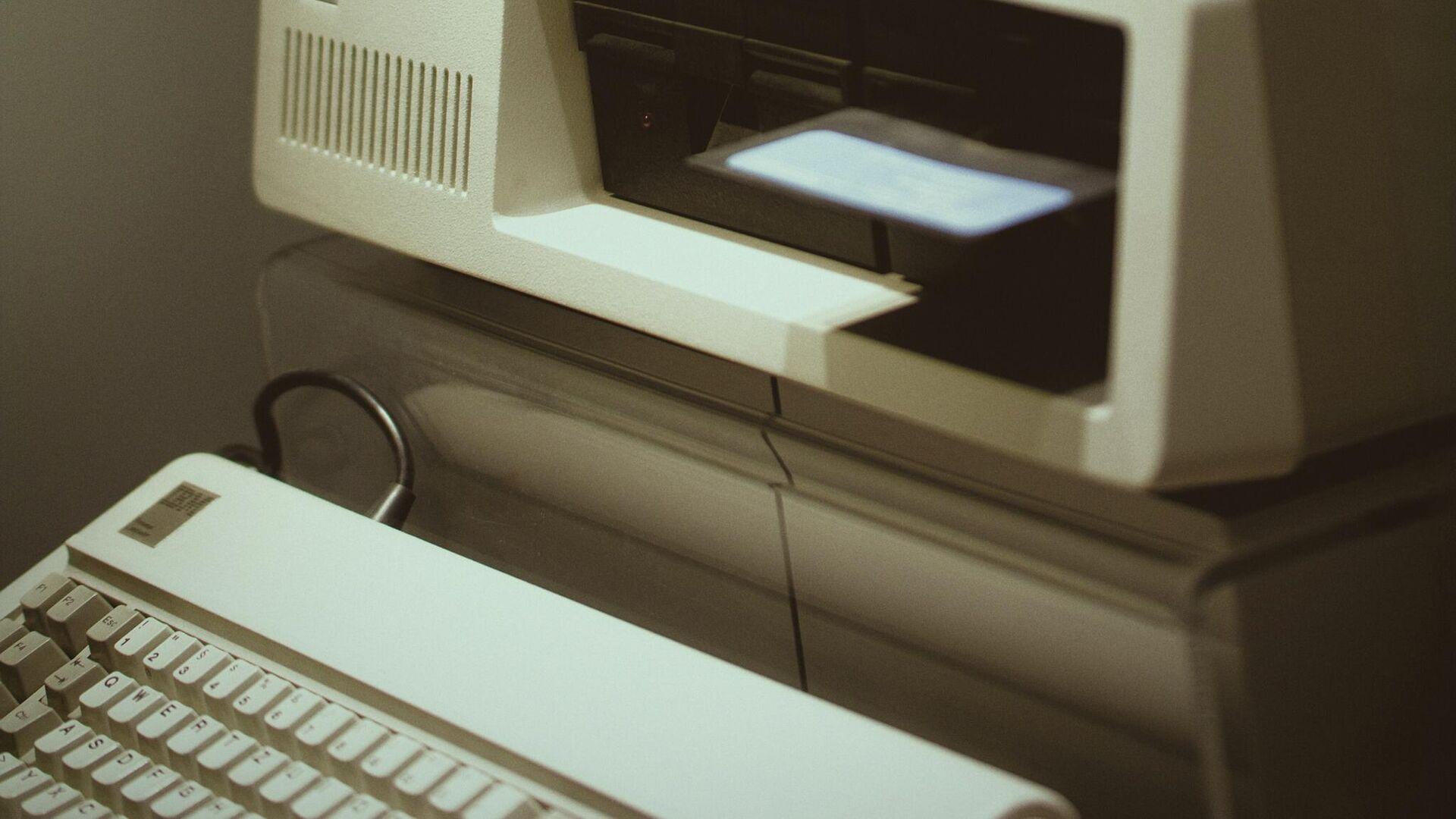 Una computadora antigua (imagen referencial) - Sputnik Mundo, 1920, 31.03.2021
