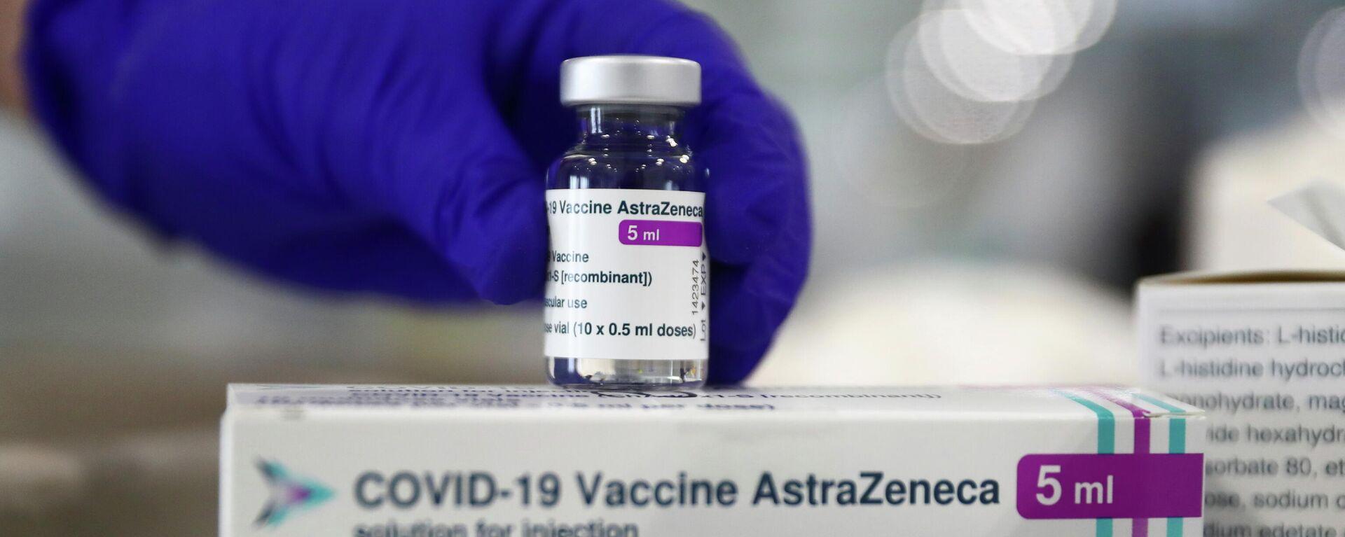 Vacuna contra el coronavirus AstraZeneca en Madrid, España - Sputnik Mundo, 1920, 23.04.2021