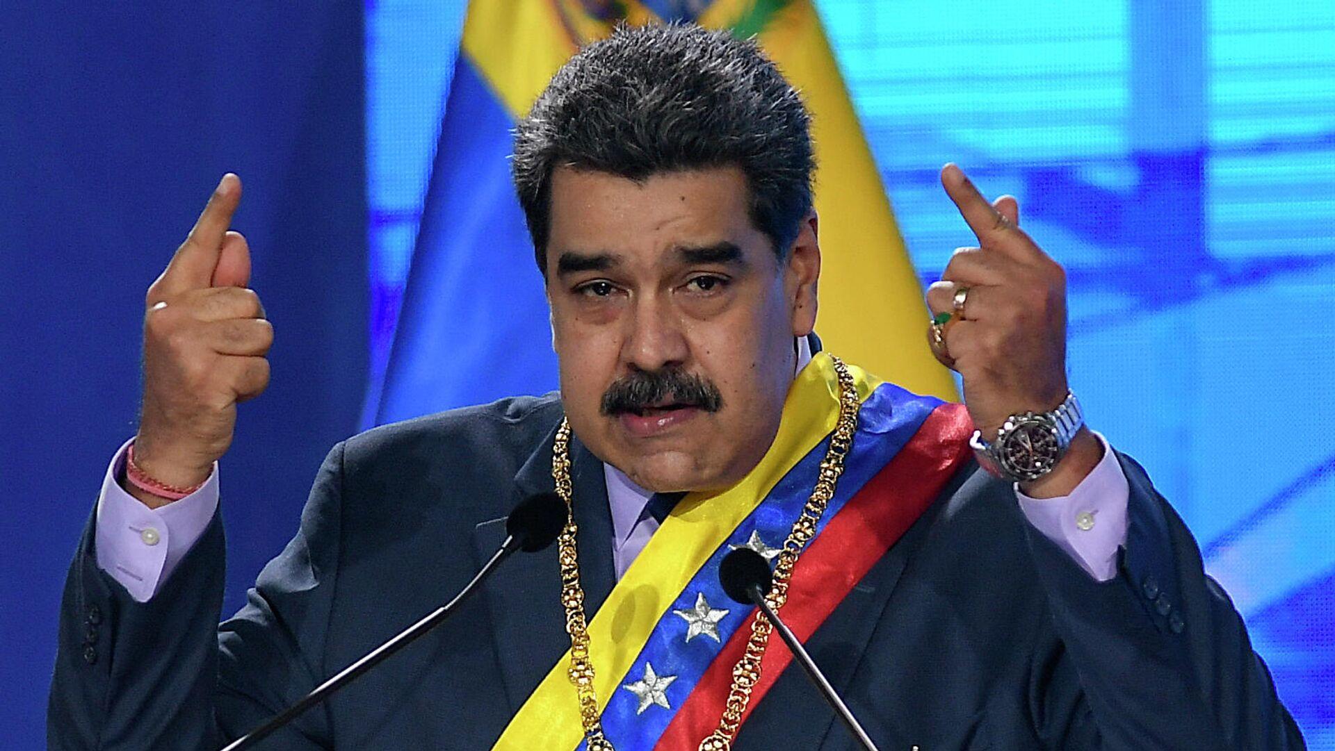 Nicolás Maduro, presidente de Venezuela - Sputnik Mundo, 1920, 09.05.2021