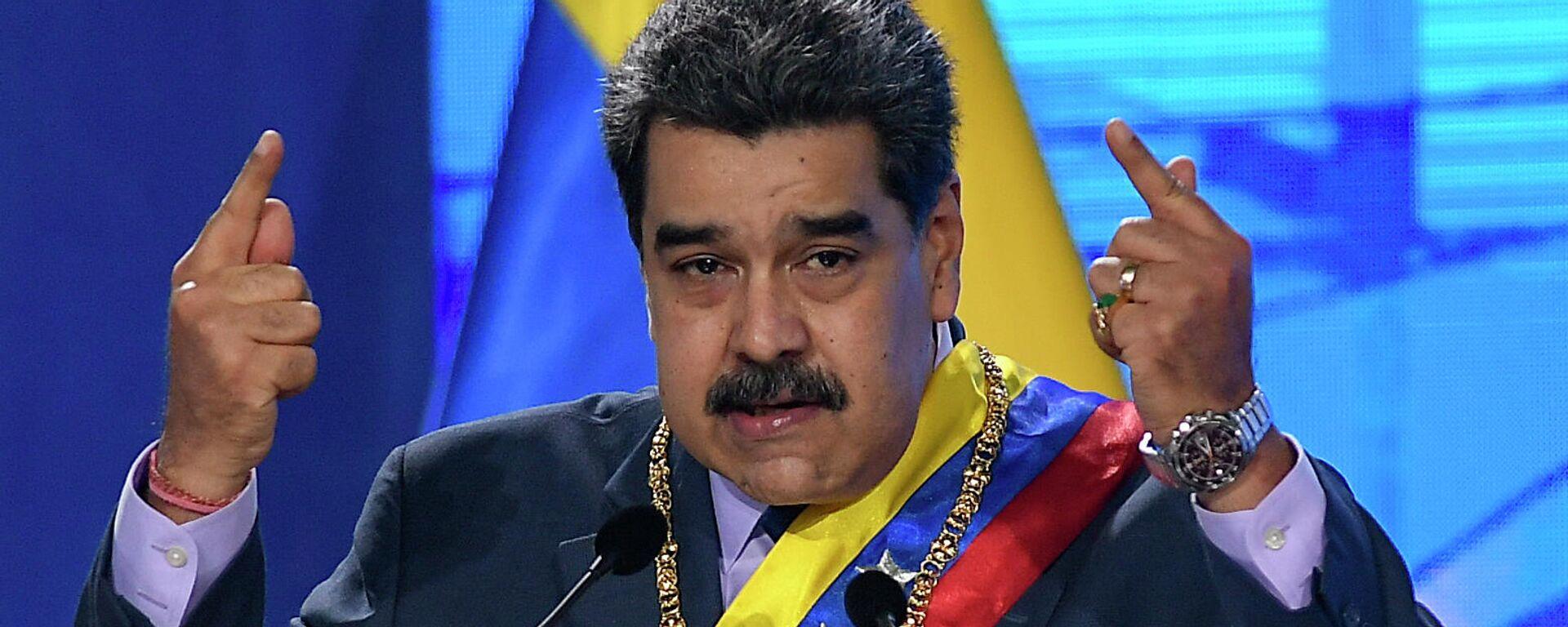 Nicolás Maduro, presidente de Venezuela - Sputnik Mundo, 1920, 06.08.2021