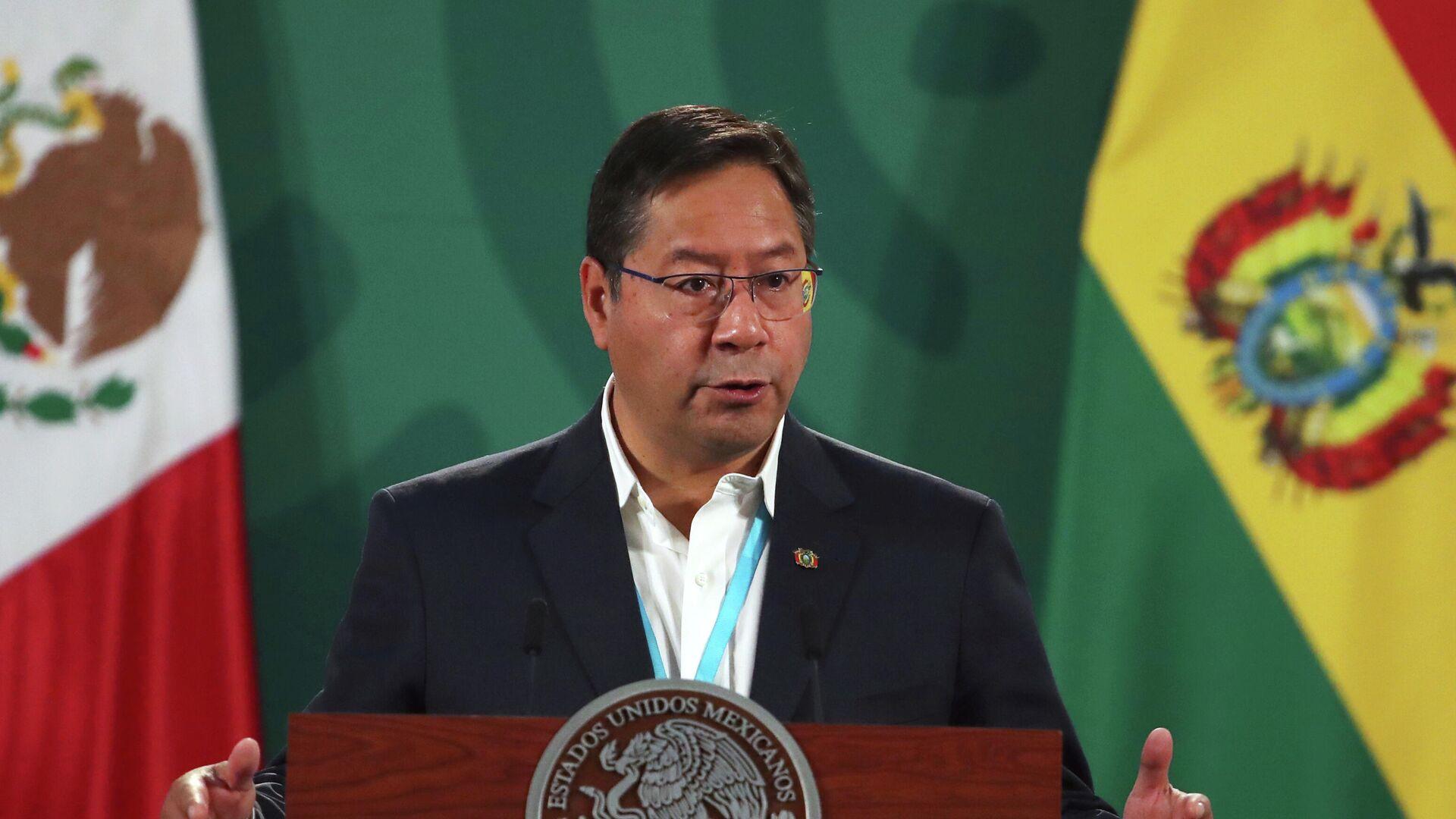 Luis Arce, presidente de Bolivia - Sputnik Mundo, 1920, 21.04.2021
