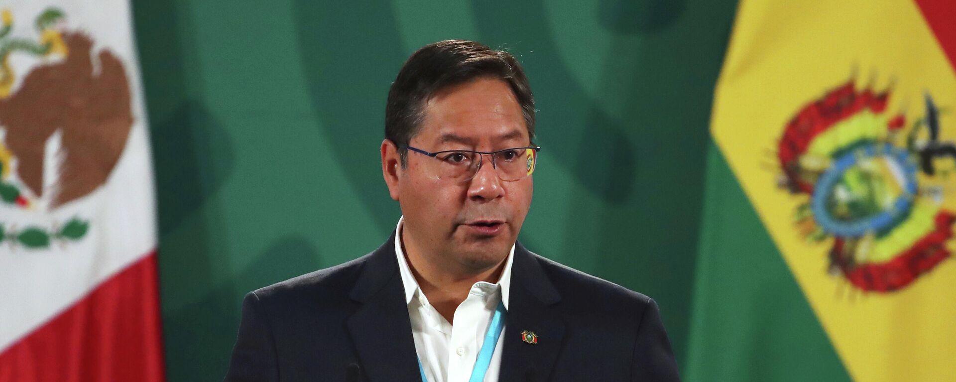 Luis Arce, presidente de Bolivia - Sputnik Mundo, 1920, 09.07.2021