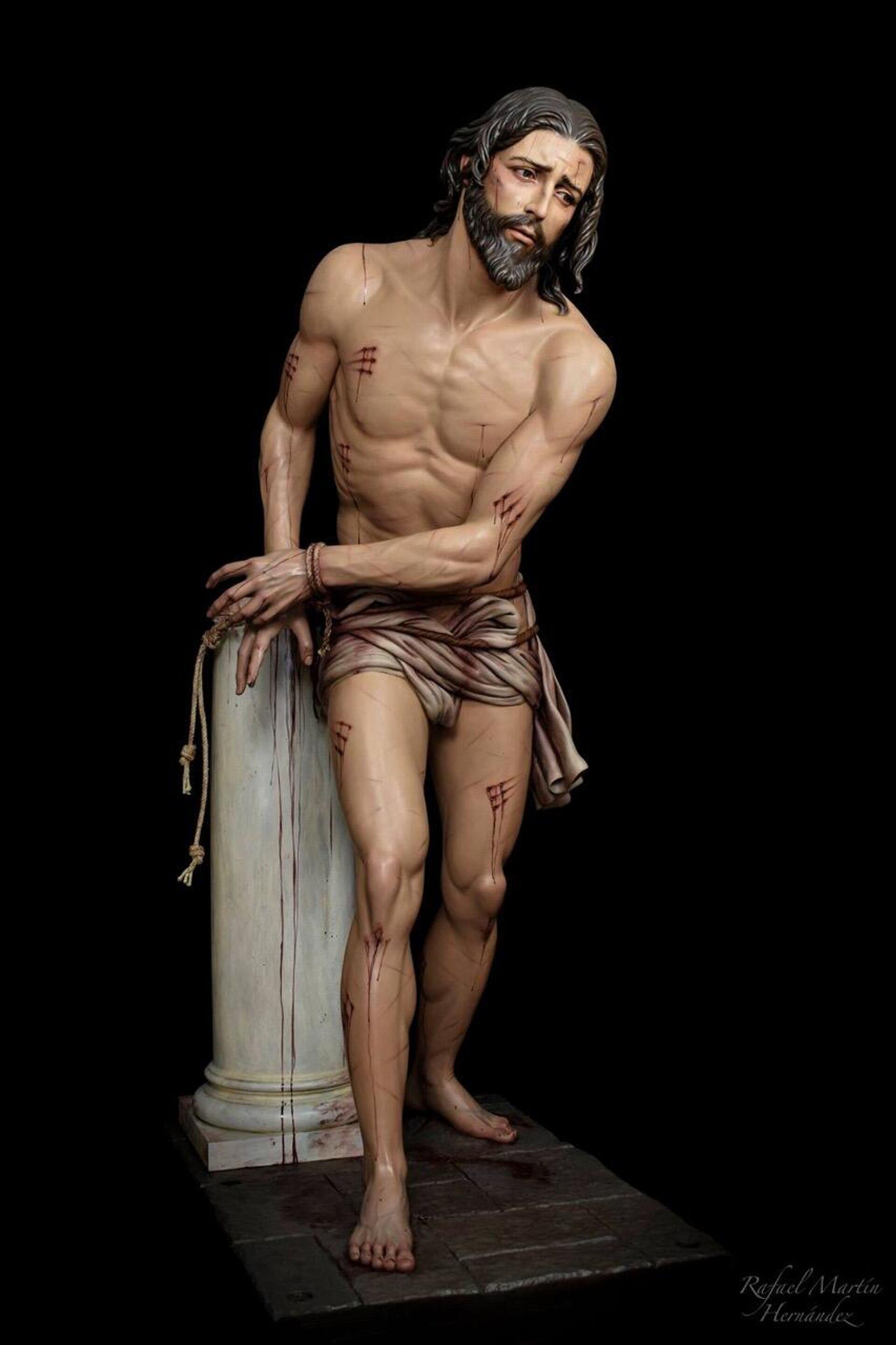 Cristo de la Flagelación de la Hermandad de las Tres Potencias (Guatemala), obra de Rafael Martín - Sputnik Mundo, 1920, 31.03.2021