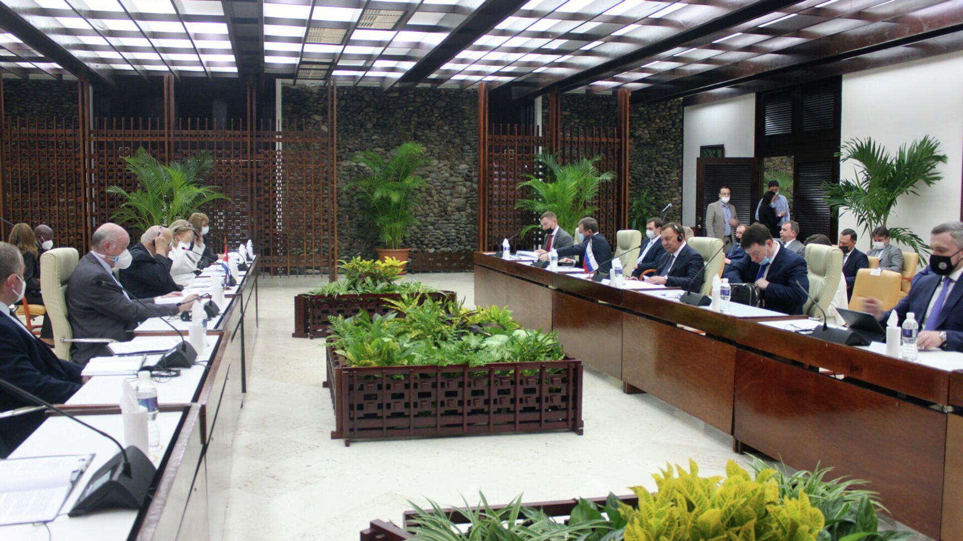 XVIII sesión de la Comisión Intergubernamental Rusia-Cuba - Sputnik Mundo, 1920, 31.03.2021