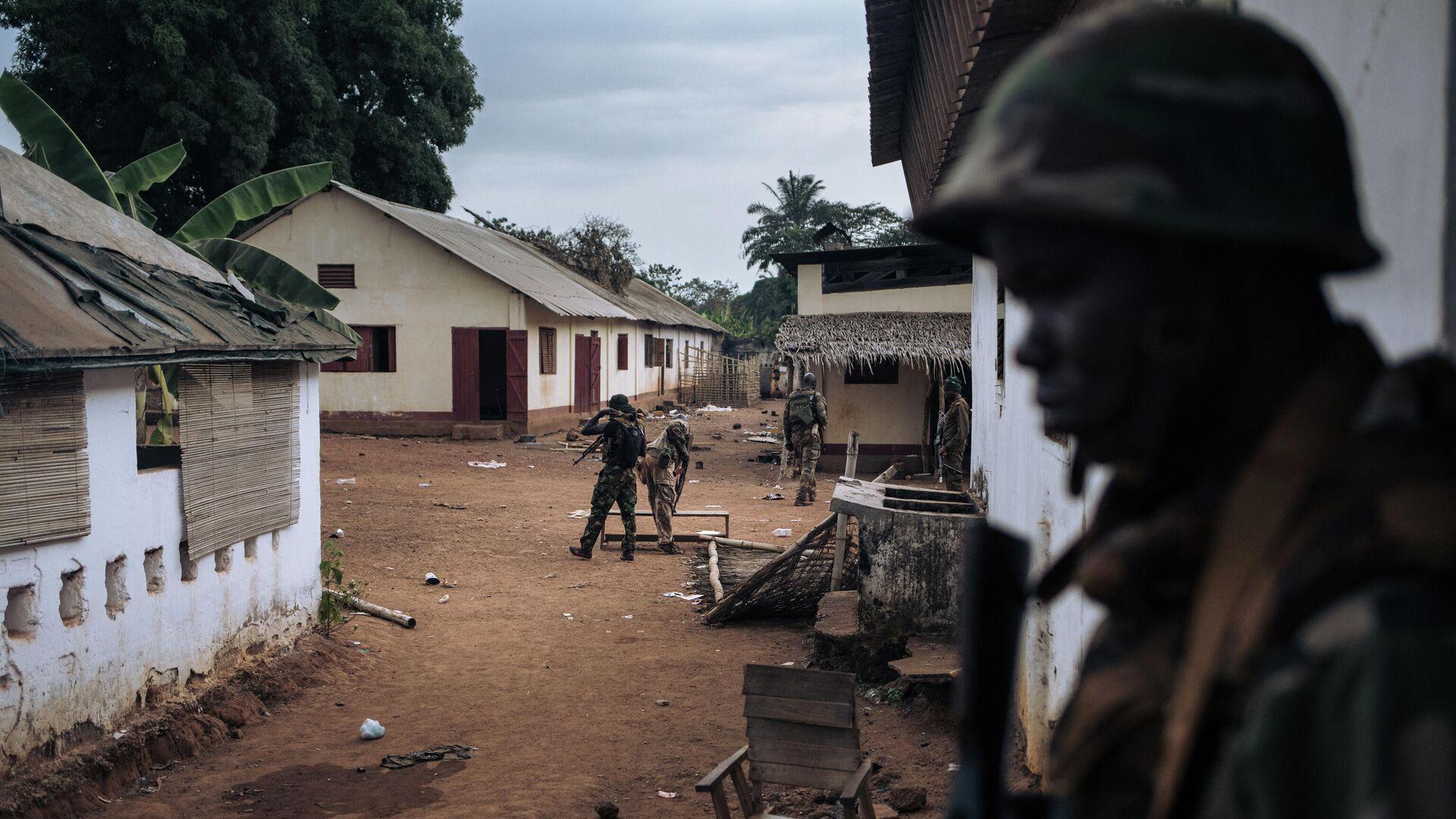 Militares en la República Centroafricana - Sputnik Mundo, 1920, 01.04.2021