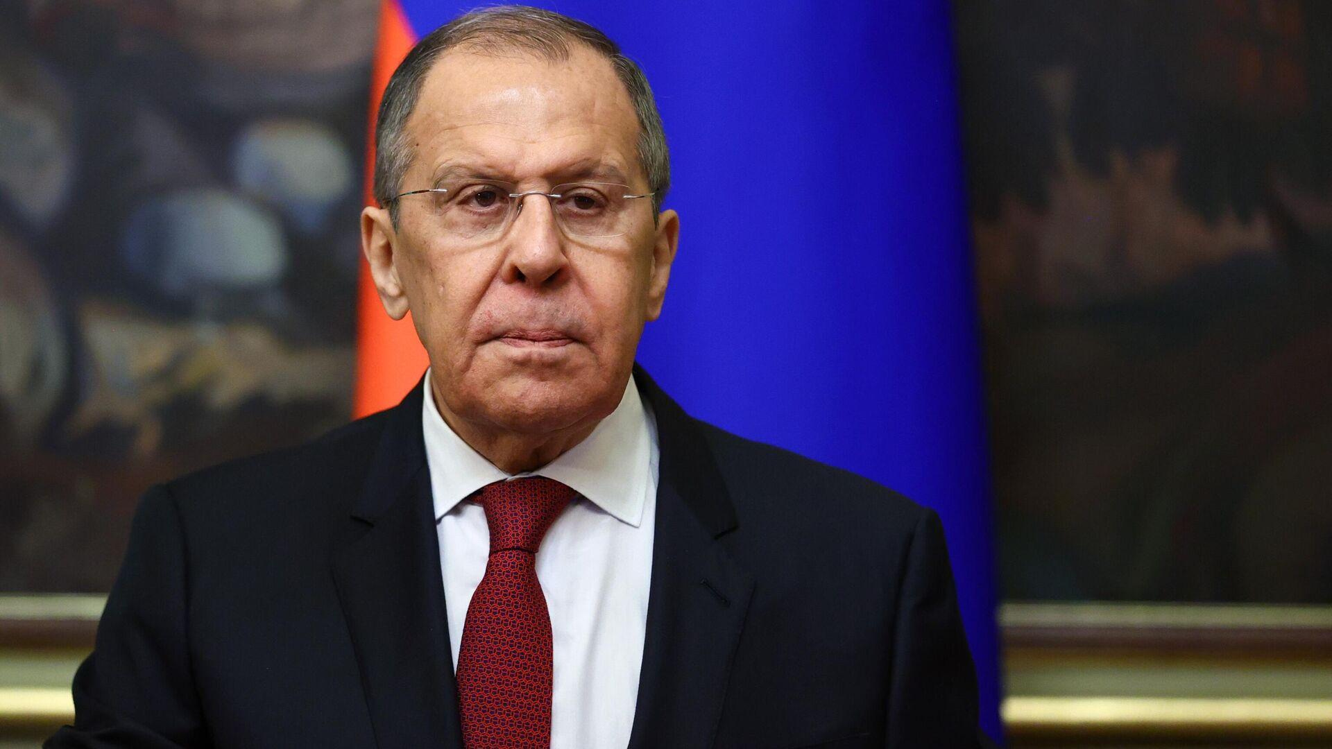 Serguéi Lavrov, ministro de Exteriores de Rusia - Sputnik Mundo, 1920, 01.05.2021