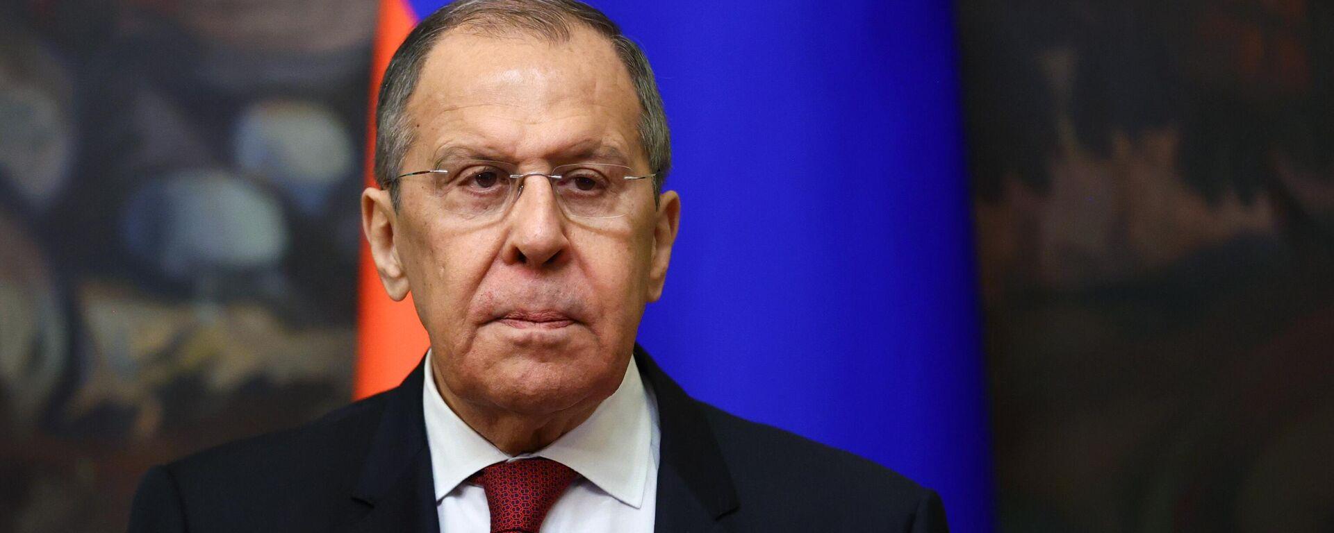 Serguéi Lavrov, ministro de Exteriores de Rusia - Sputnik Mundo, 1920, 22.06.2021