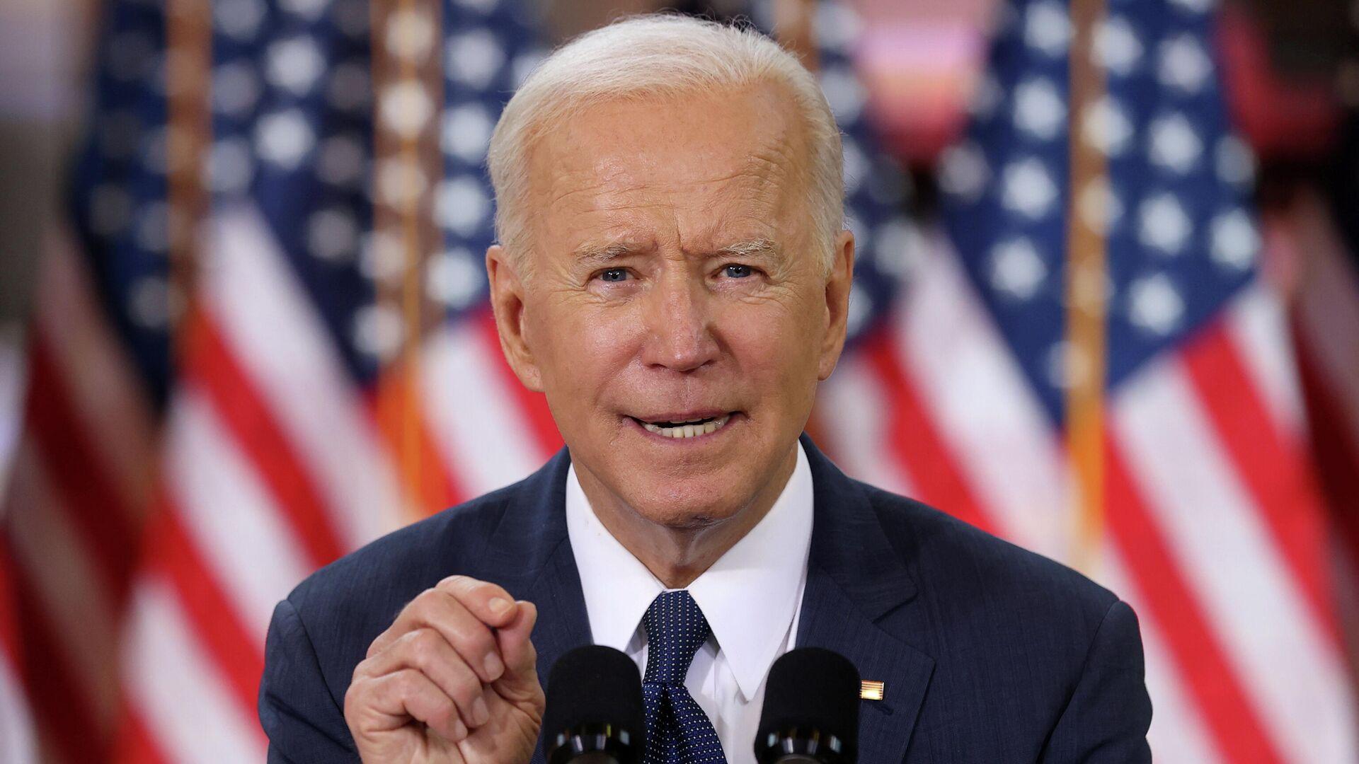Joe Biden, presidente de EEUU - Sputnik Mundo, 1920, 24.04.2021
