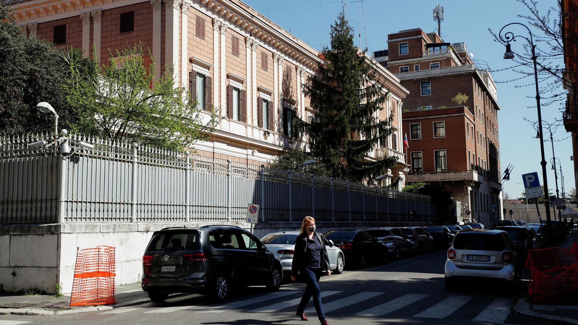 Embajada rusa en Roma, Italia - Sputnik Mundo, 1920, 01.04.2021