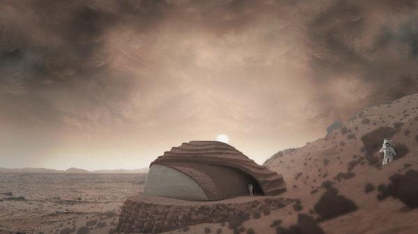 Proyecto de vivienda marciana diseñada por José Miguel Armijo - Sputnik Mundo