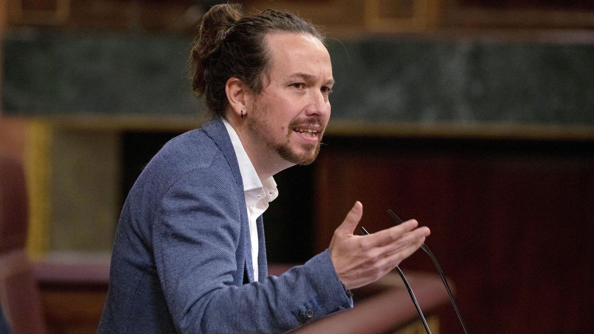 Pablo Iglesias, líder de la formación española de izquierdas Podemos - Sputnik Mundo, 1920, 02.04.2021