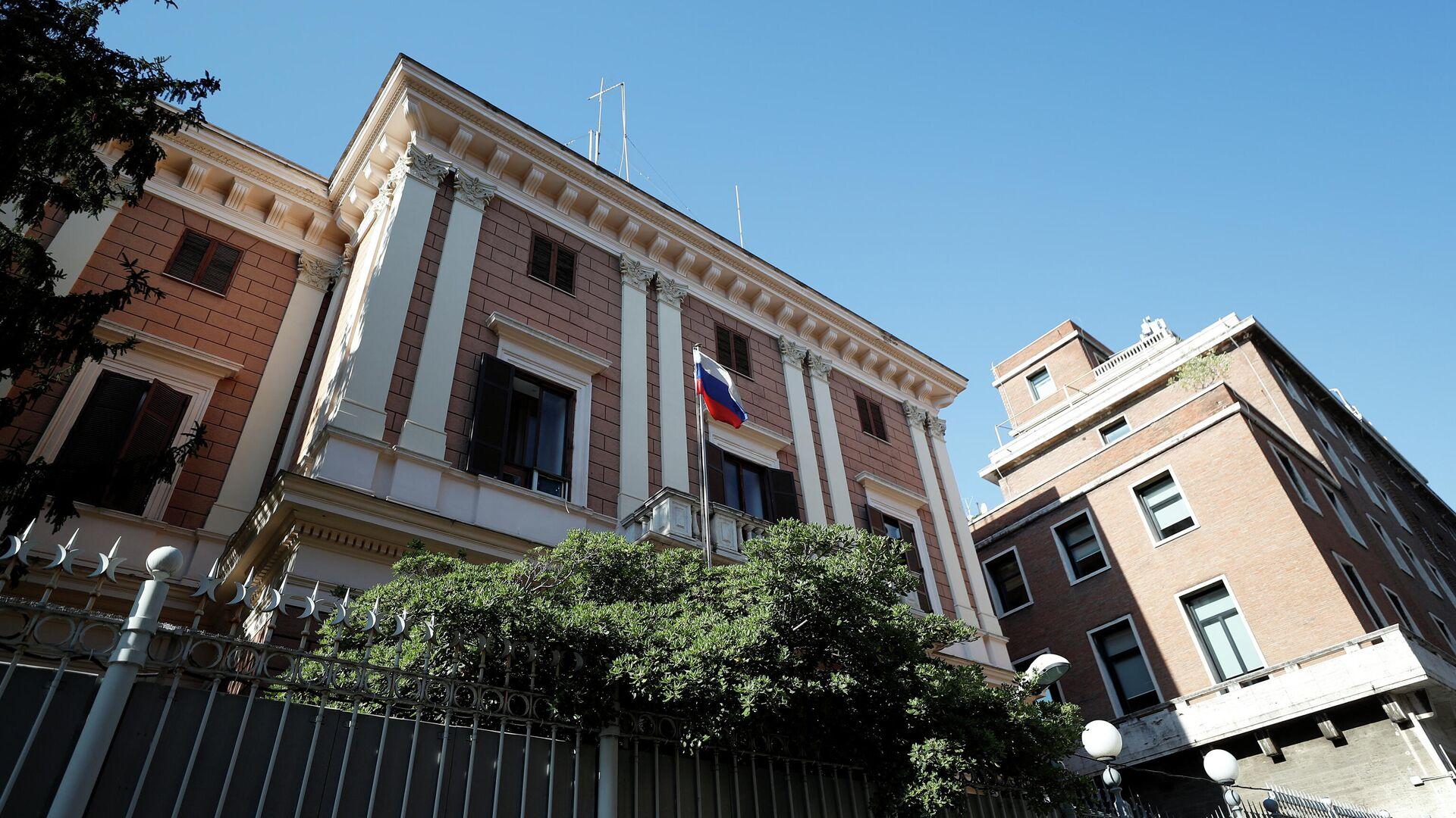 Embajada de Rusia en Roma, Italia - Sputnik Mundo, 1920, 02.04.2021